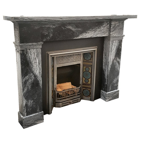 mirror mantel shelf antique vintage view bolts rustic cast mantels salvage with larger surrounds s fireplace stone