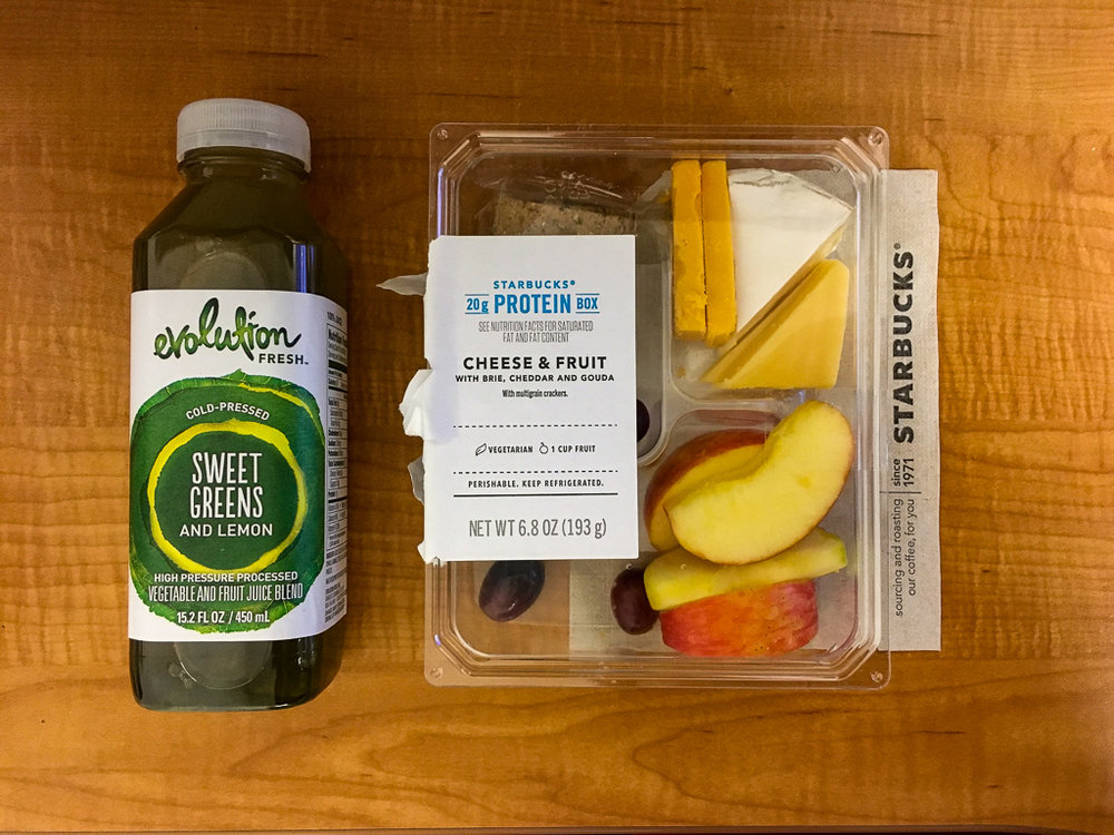 QUICK & CHEESY - STARBUCKS PROTEIN BOX