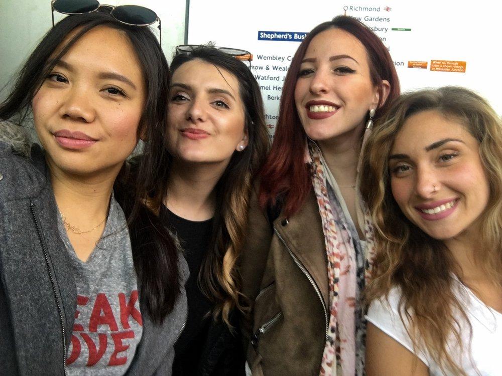 Alexandra, Victoria, & Dalila