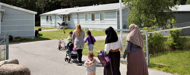Picture is from the Danish asylum center Kongelunde. This is not where Fawad Noori lives.