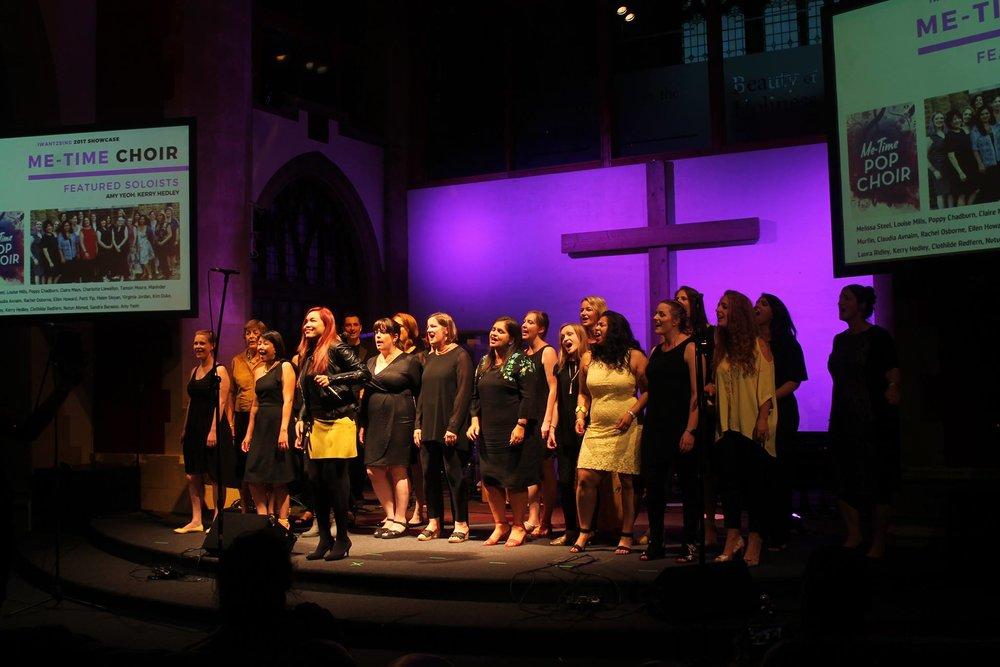 The Me-Time Pop Choir