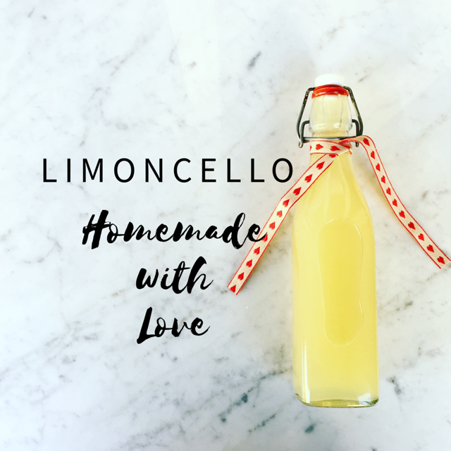 Limoncello - homemade with love