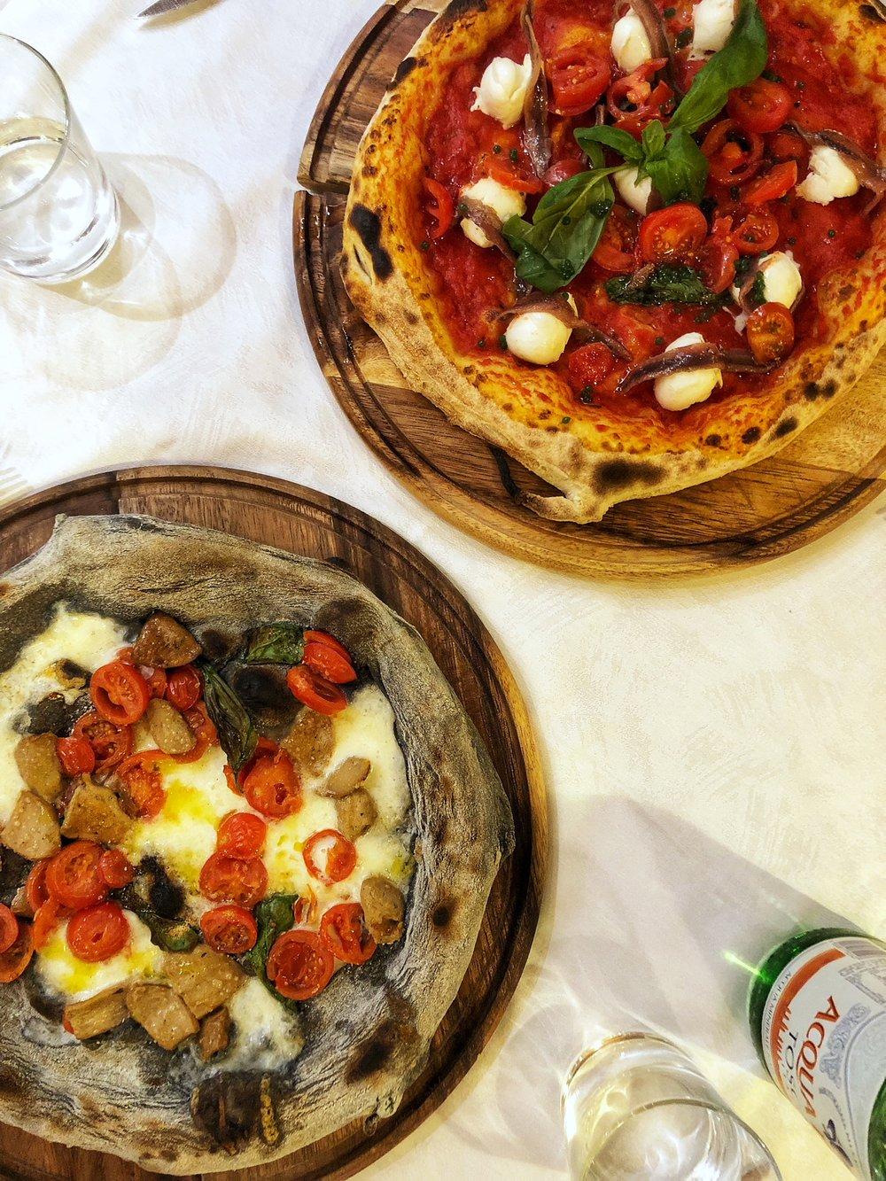 Beato Te Milano - two pizzas.jpeg