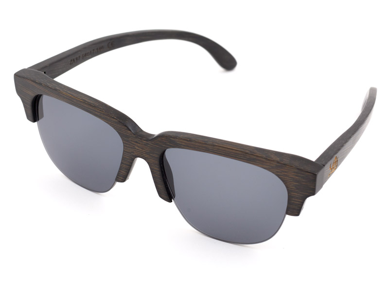 Legra Wooden Sunglasses side