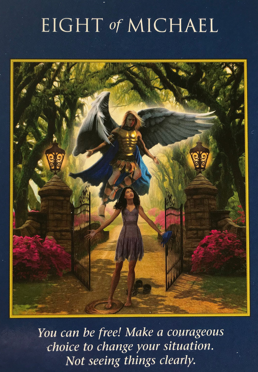 Gemini-Eight of Michael - Stop self-sabotaging! You've convinced yourself there are no other options, but you've forgotten that when what's in front of you doesn't look right that you can always turn to a different view of things. Once you change your perspective, you may find some old friends coming back into your life, bringing a sense of positivity you haven't felt in a while. Take a step back and think about your emotions from an objective viewpoint, this might help you change your mind.