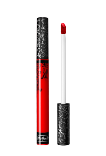 Red: Base Chakra - for grounding and staying present in day to day situations.Katie suggests Kat Von D's Everlasting Liquid Lipstick in Underage. Never let them catch you slipping in this fail proof liquid lipstick with a true red hue.