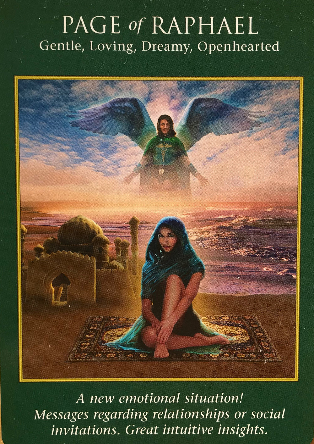 Pisces-Page of Raphael - You tend to be fairly intuitive, Pisces. Your emotions tell you a lot about what you're doing and where you're going. Make sure you're listening to your higher self—Trust! May brings in an energy where you might find yourself loving your work and relationships a little extra. As more loving energy enters your personal energy, make sure you are communicating yourself effectively so that others don't get a false impression of you. This is a good time to think about your relationships, romantic and platonic, and what you want from them and whether you are getting what you need. Working on this now could result in much better, or worse, circumstances by next month—it's up to you to trust what is right!