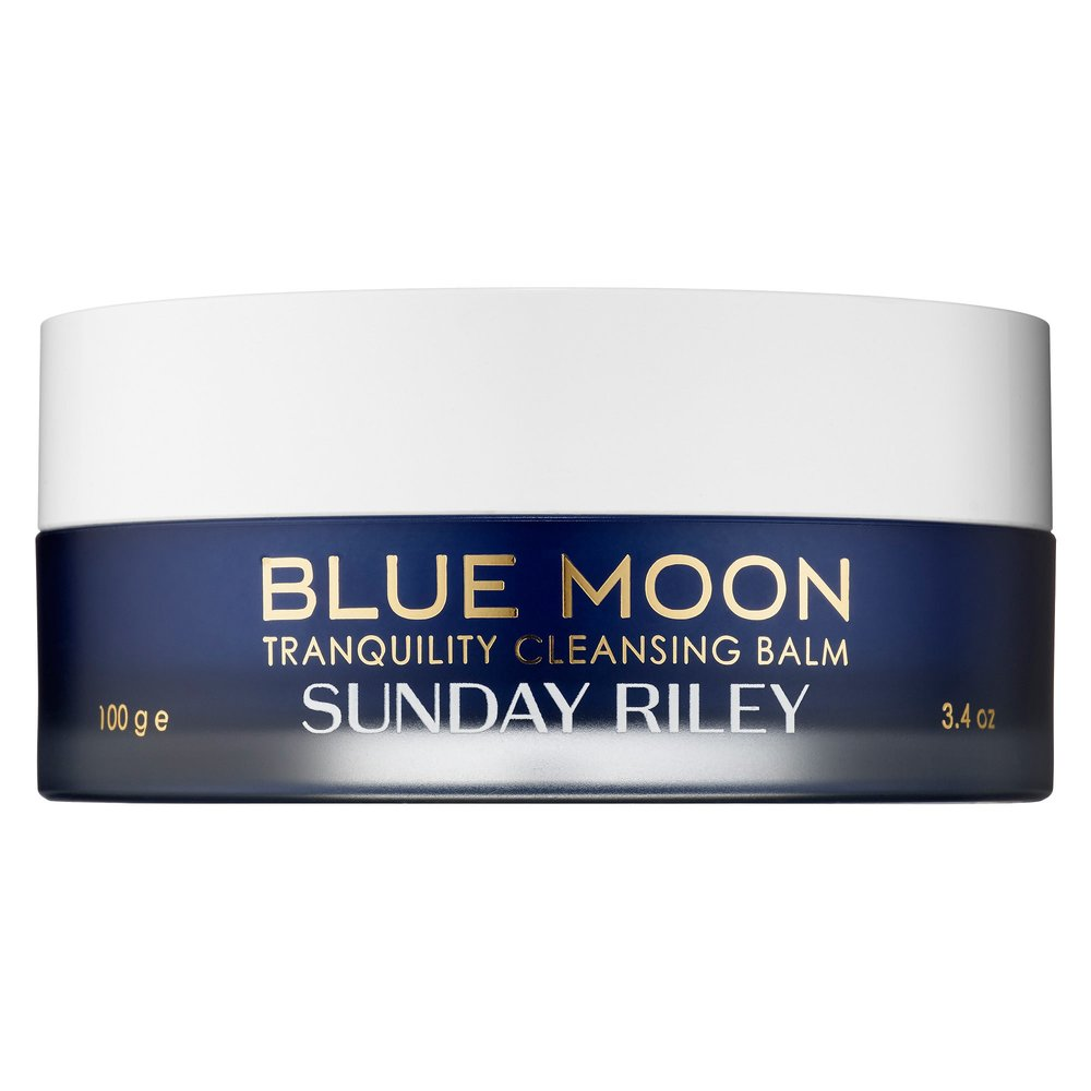 "Blue: Throat Chakra - For communication.Katie suggests the Sunday Riley Blue Moon Tranquility Cleansing Balm. While you may be facing up to all that life's throwing your way, my dear Sag, you may find the ""escape"" you're looking for in your own beauty ritual. Add this rich cleansing balm to your nighttime skincare routine to soothe the skin and spirit. I suggest utilizing it in a double cleanse  (especially if acne prone), using it to melt away and lift makeup and/or dirt and oil from the day before rinsing away impurities with a foaming cleanser. Take your time massaging the balm into your skin, you could use a little extra TLSC (tender loving self care) this month."