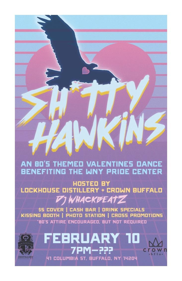 Sh*tty Hawkins, February 2018