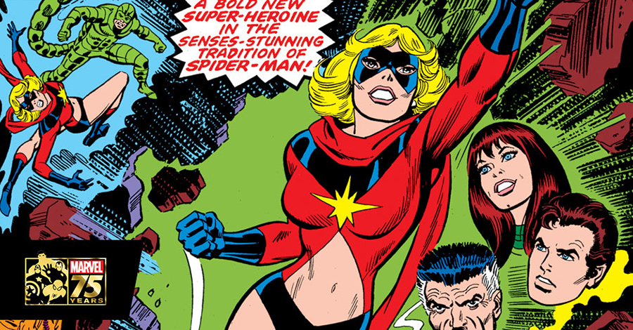 Marvel Women Of The '70s: Ms. Marvel (Marvel.com)