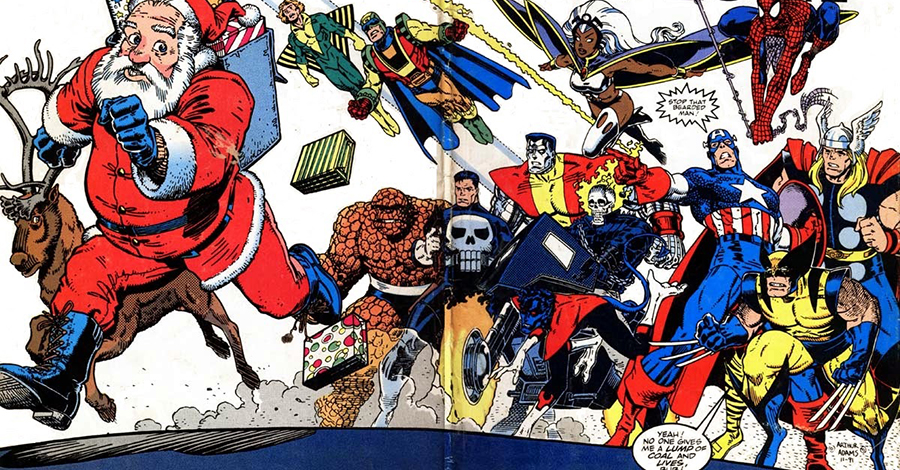 "5 Most Spirited Stories From The '90s Marvel ""Holiday Specials"" (CBR)"