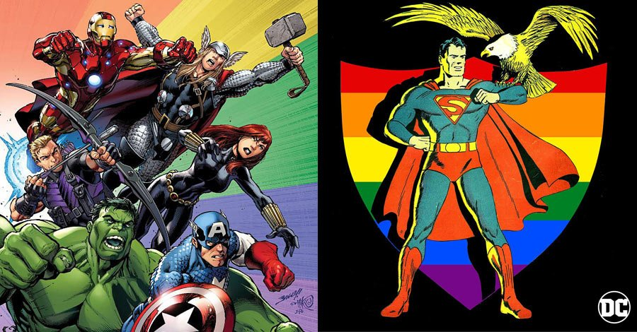 Marvel, DC and the Current State of LGBT Superheroes (CBR)