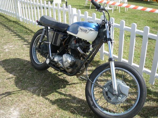 Triumph at Vintage Goodwood
