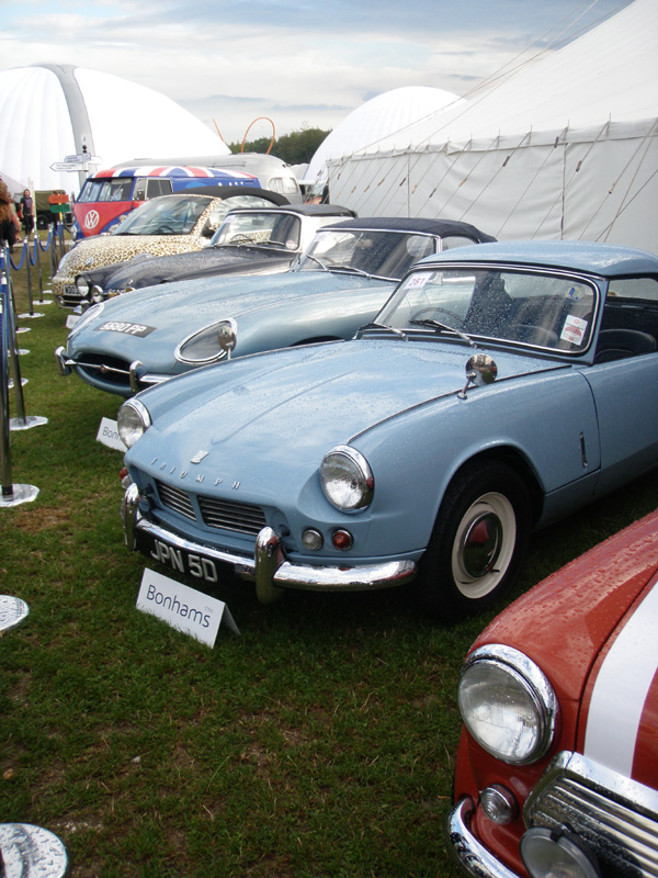Vintage cars at Vintage Goodwood