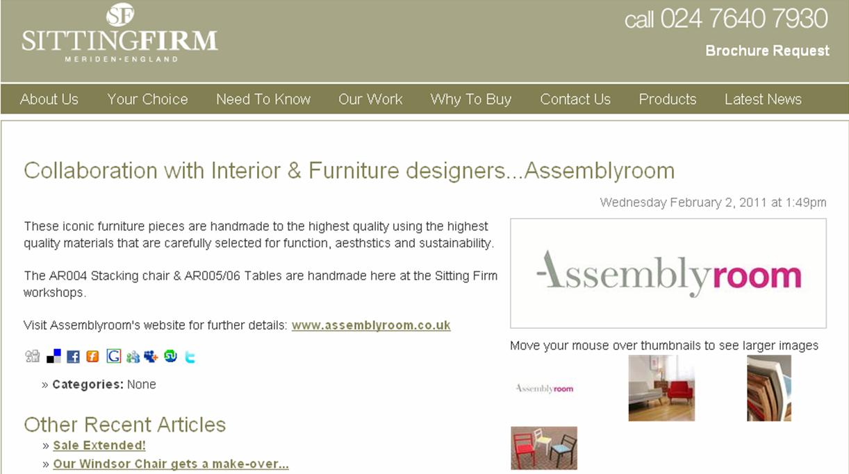 Assemblyroom Furniture