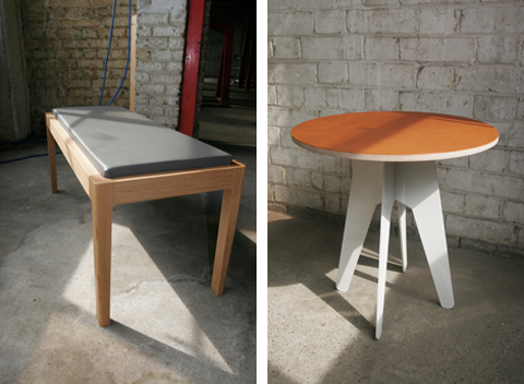 Axa Bench & Table