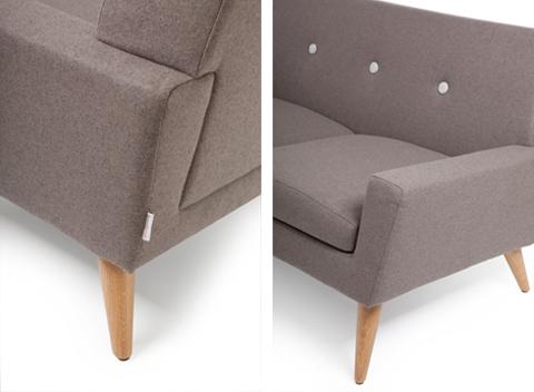 Finsbury Sofa details