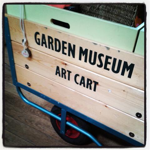 Garden Museum Cart