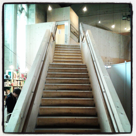 Garden Museum Stairs