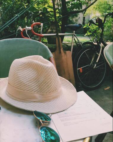 Details of a summer aperitif