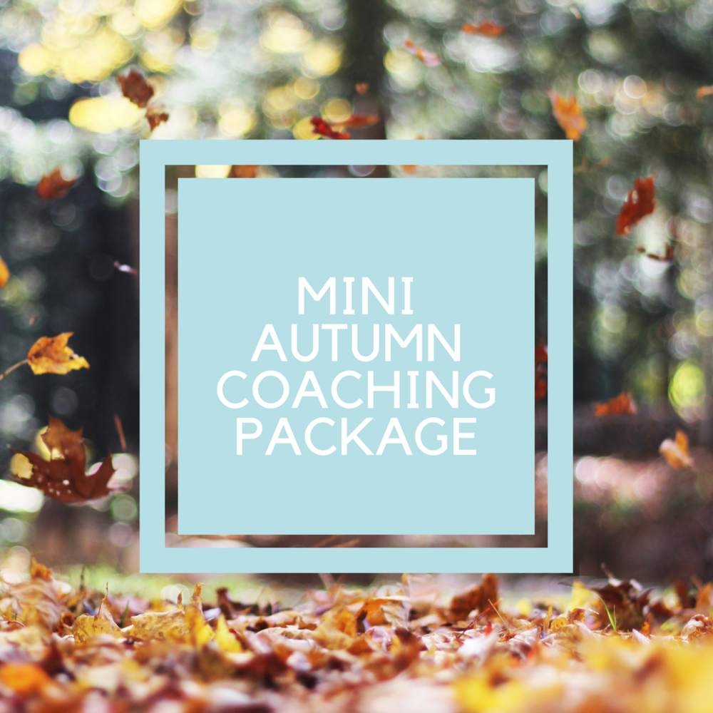Autumn Coaching Package life transitions