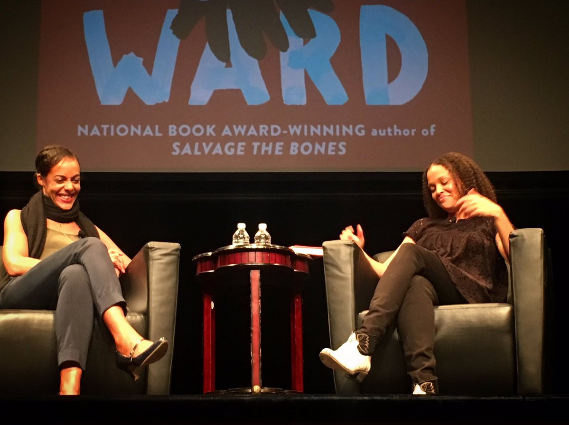 Lisa Lucas and Jesmyn Ward. Photo by Josh Begley