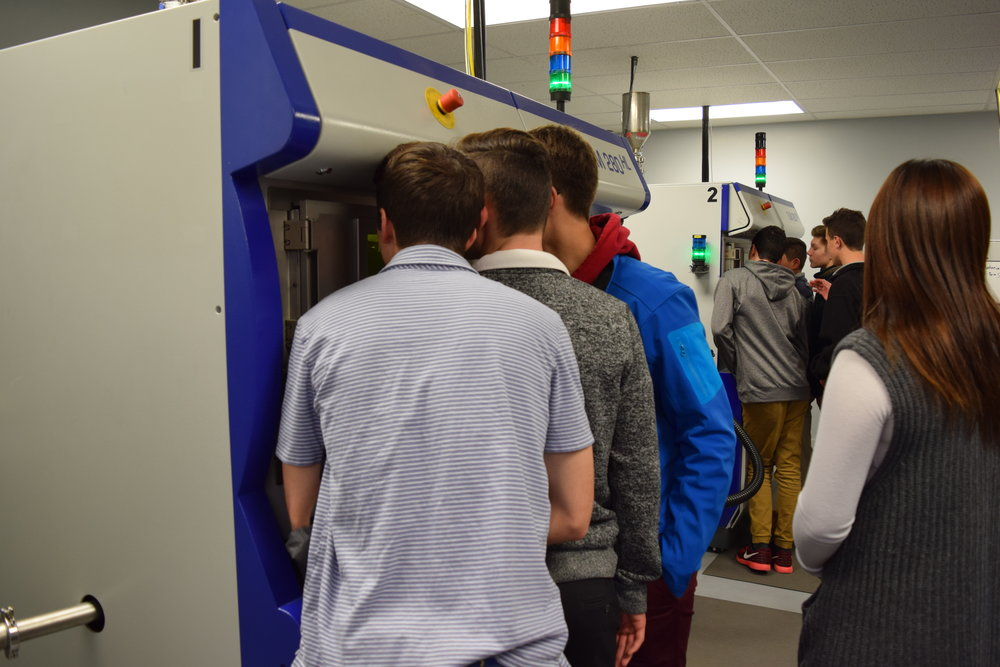 Students Captivated by Metal Additive Manufacturing.JPG