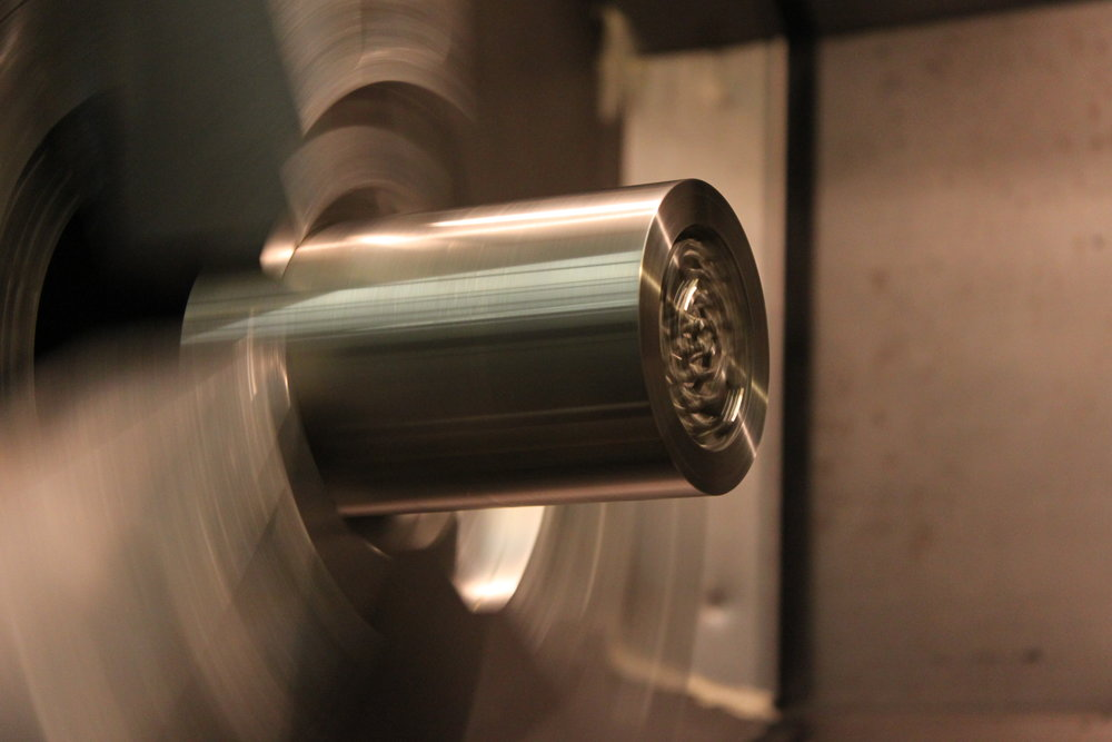 CNC Turning Inconel Lattice Component.JPG