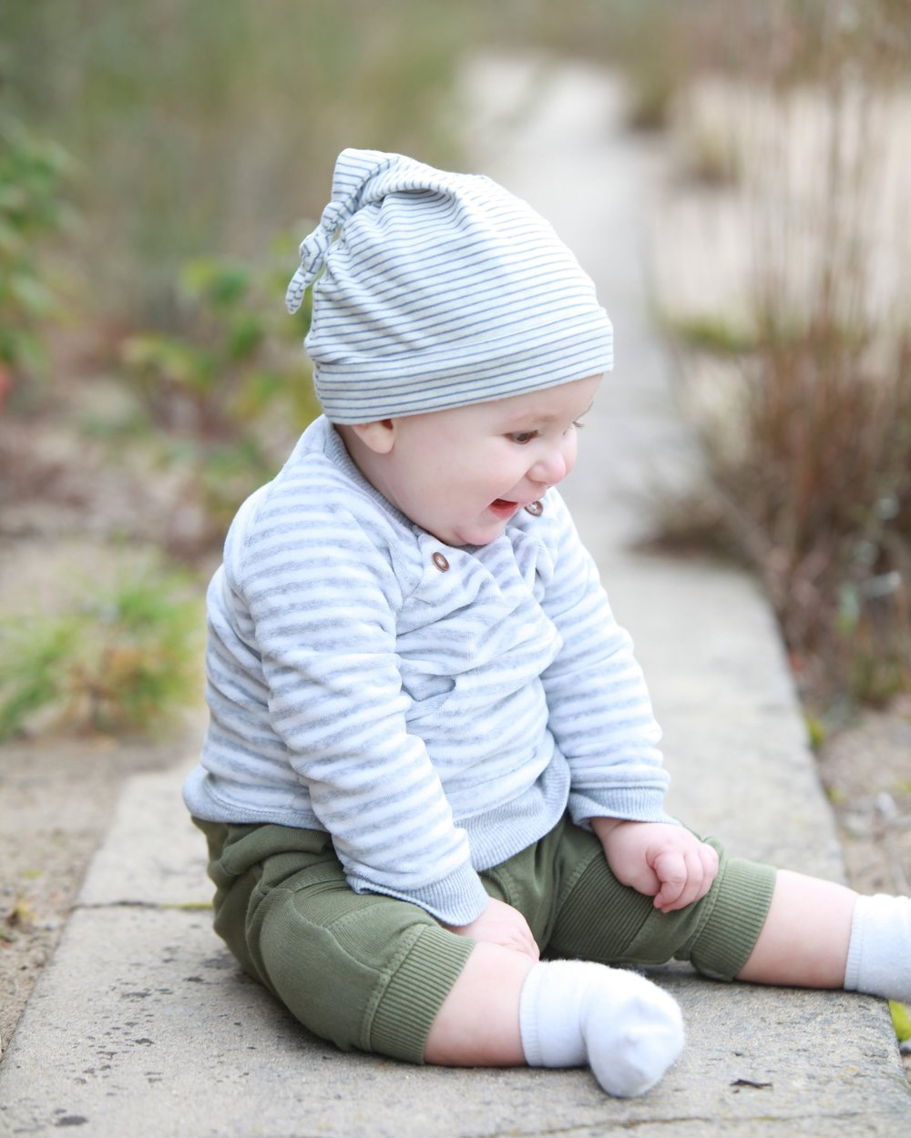 Obligatory cute baby pic, Otto Riley at 7mos. Photo by Pure North Photography