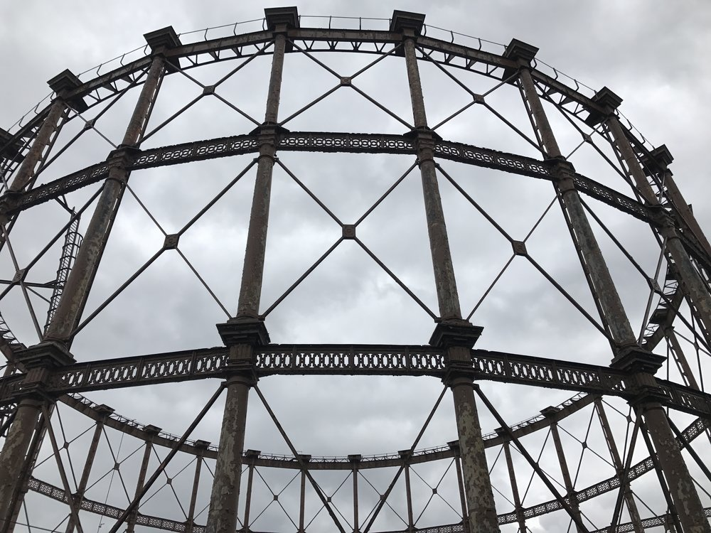Gasholder at Bromley-by-Bow