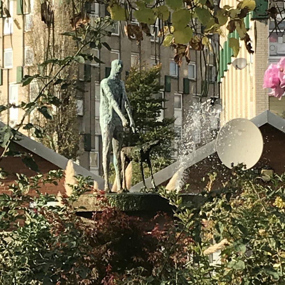 Elisabeth Frink's Statue