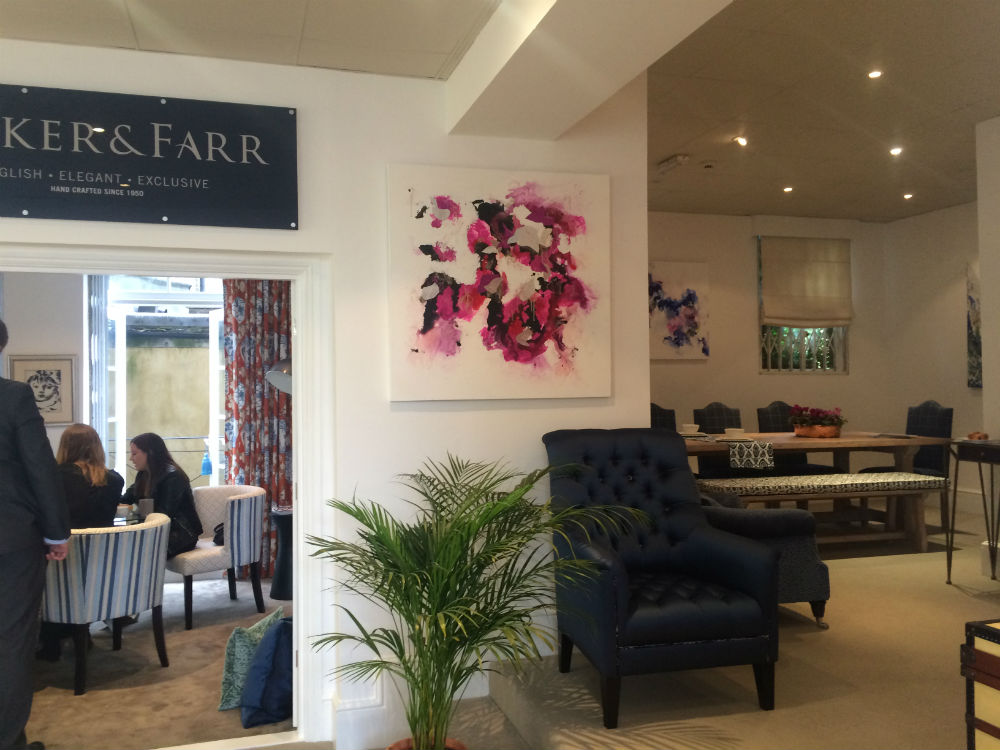 Parker & Farr - Corinne Natel with Fabricut, Titchmarsh & Goodwin and Parker & Farr