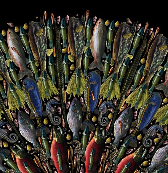 Detail of The Quickening 1 by Fleur Alston