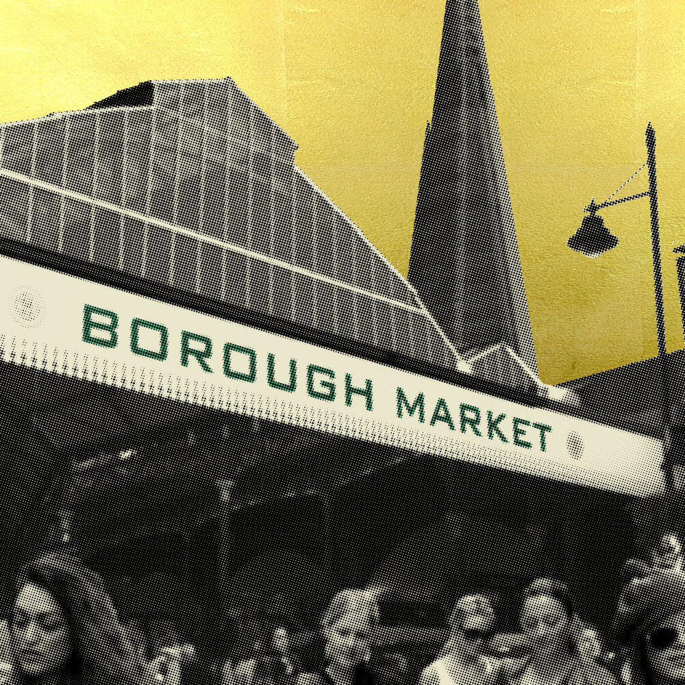 Borough Market by Jayson Lilley