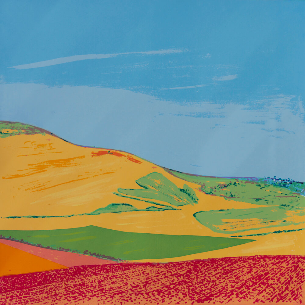 Rolling Hills by Giuseppe D'Innella