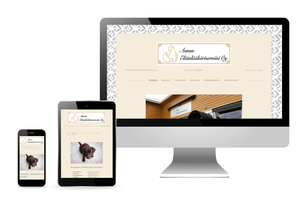 responsiiviset verkkosivut