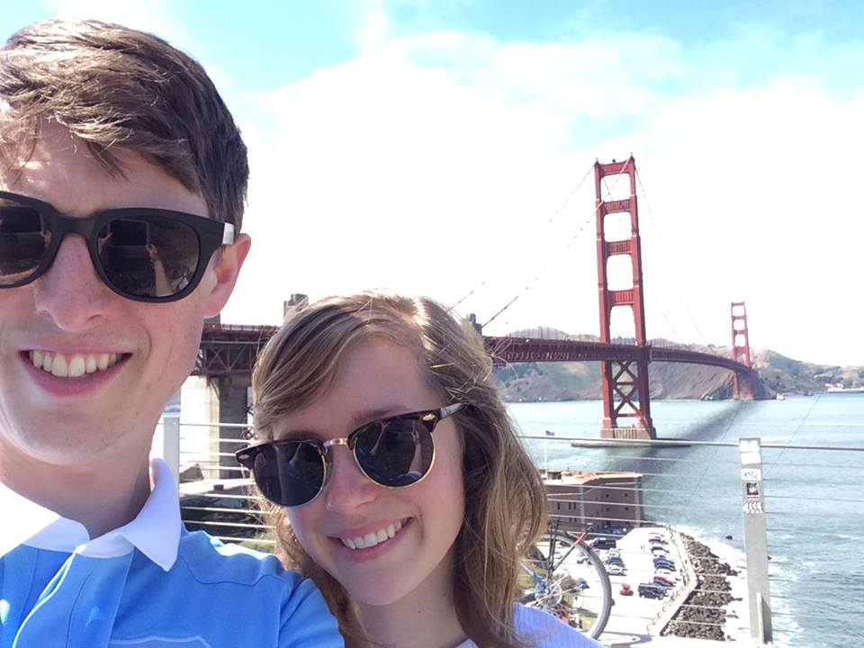 San Francisco city. The best city. Bridges, burritos and bloody steep hills. We are lucky bunnies.