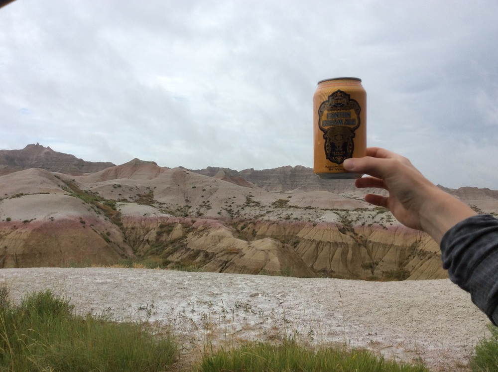 Just found this one resting on top of a Badlands mound!