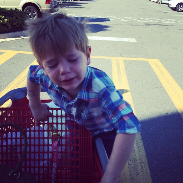 This would be Jude a few years ago leaving target.....with nothing....because of losing his mind.