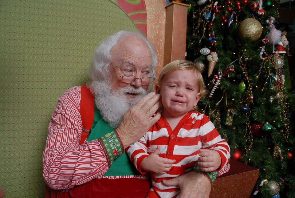 Awhile Santa whispers the 47 mile long list of things I need to get done by Christmas Day.