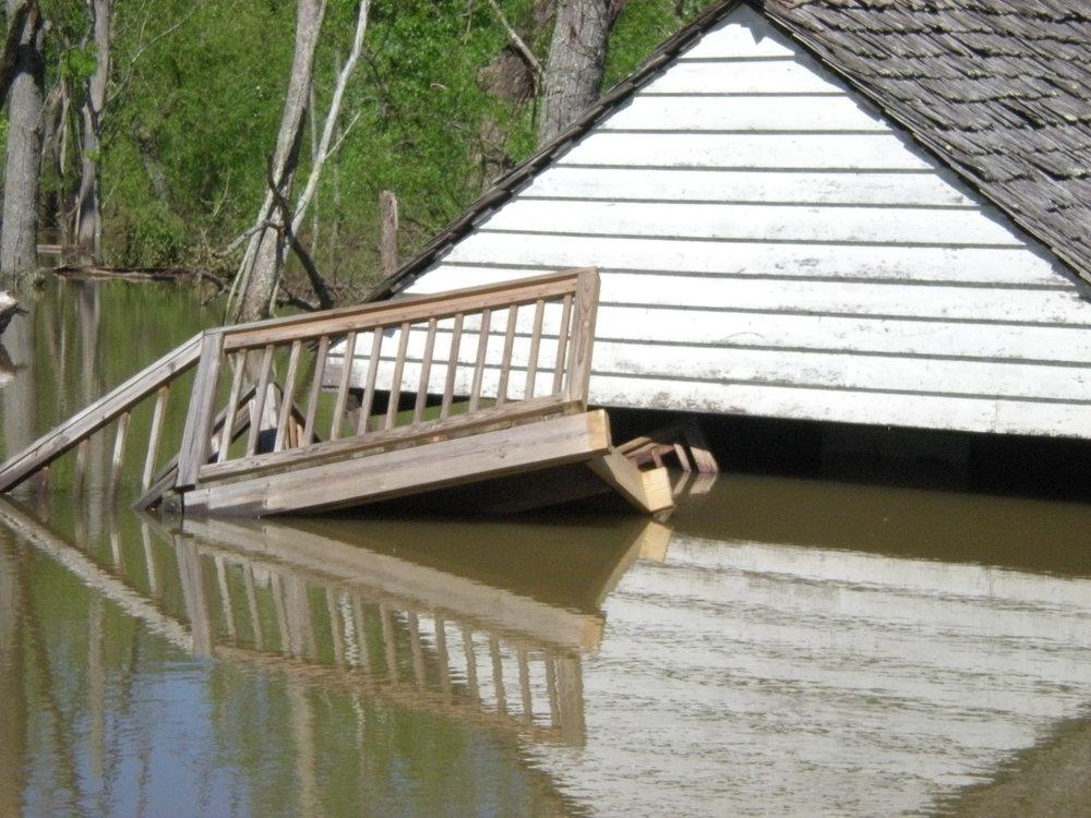Springhouse, 2010 flood