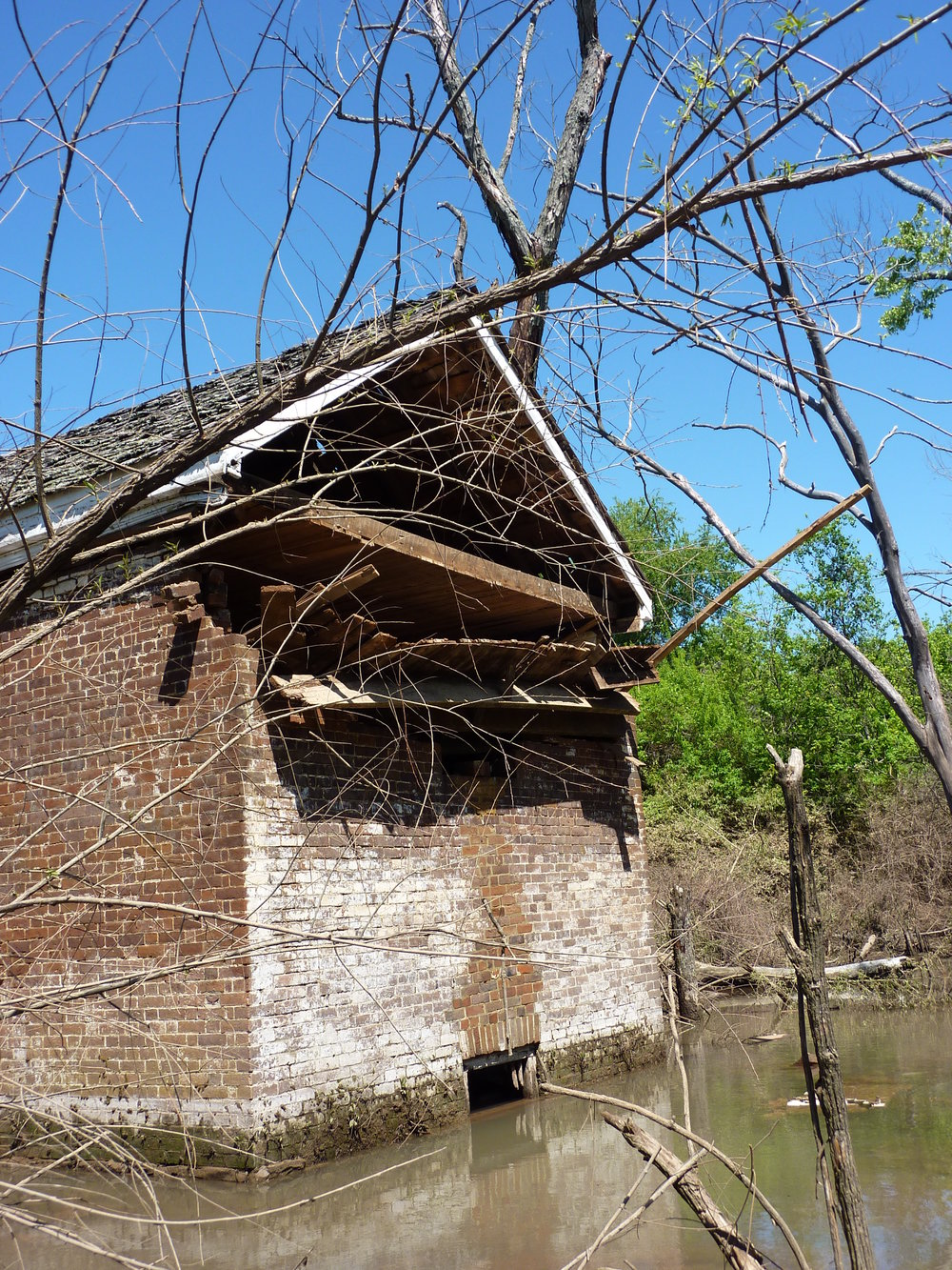 Springhouse, 2010 flood damage