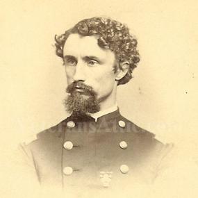 Maj. Clifford Stickney, Co. C, 72nd IL Infantry, USA