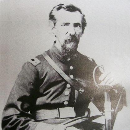 Capt. Hiram Vanneman, Co. G, 84th IN Infantry, USA