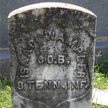 Isaac Wampler, Co. B, 8th East TN Infantry, USA