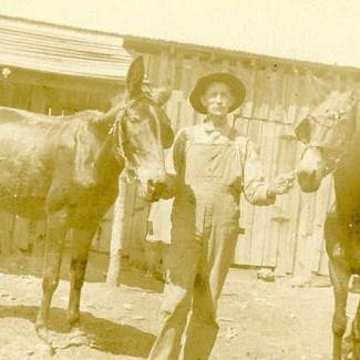 Pvt. Moses Faucett, Co. I, 13th TN Infantry, CSA