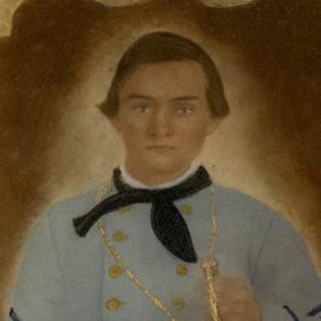 Pvt. James Shelton, Co. A, 23rd MS Infantry, CSA