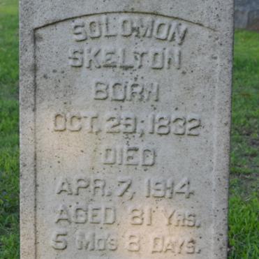 Sgt. Solomon Skelton, Co. G, 5th MS Infantry, CSA