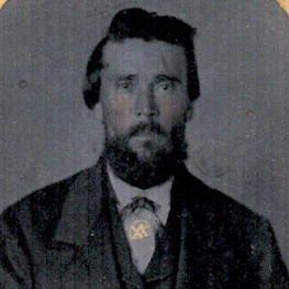 Pvt. Angus Vandyke, Co. I, 13th TN Infantry, CSA