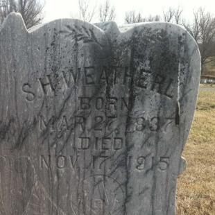 Pvt. Samuel Weatherly, Co. K, 6th TN Infantry, CSA